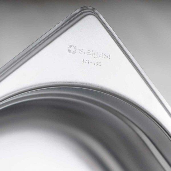 Pojemnik stalowy, GN 1/2, H 65 mm