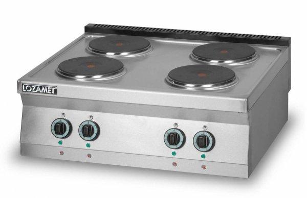 Kuchnia elektryczna 4-płytowa L900.KEO4 Lozamet