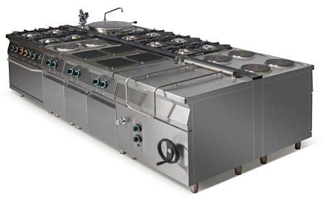 Kuchnia gazowa 4-palnikowa L900.KG4 Lozamet