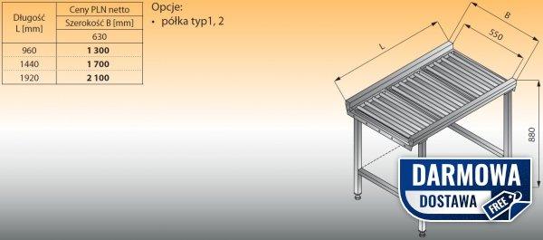 Stół przelotowy z rolkami lo 370 - 1920x630 Lozamet