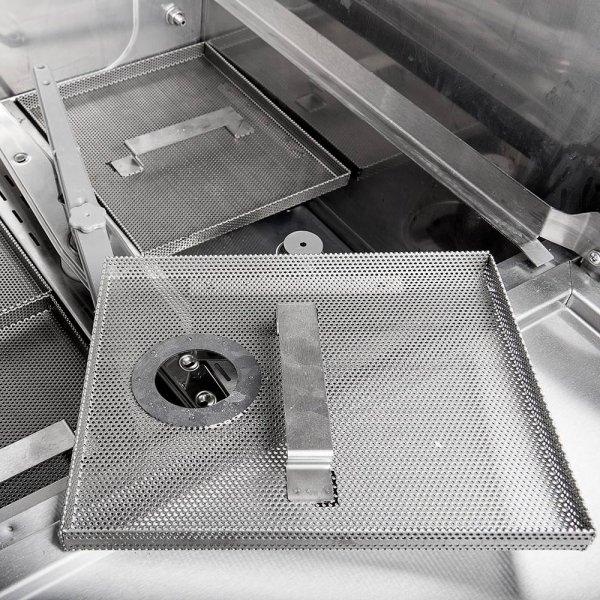 Zmywarko wyparzarka, uniwersalna, Power Digital, dozownik płynu myjącego, pompa wspomagająca płukanie, P 6.65 kW, U 400 V