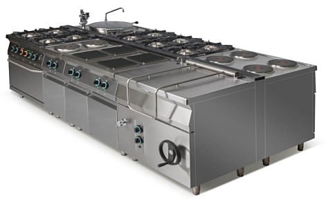 Kuchnia elektryczna 2-płytowa L900.KE2 Lozamet