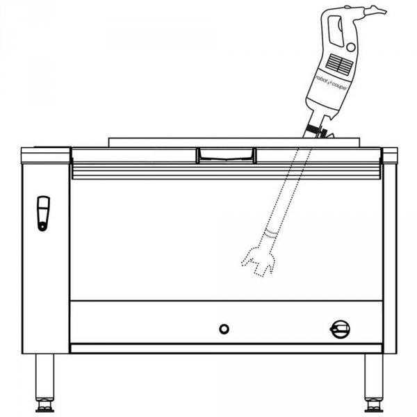 Mikser ręczny, MP 600 Ultra, P 0.85 kW, U 230 V