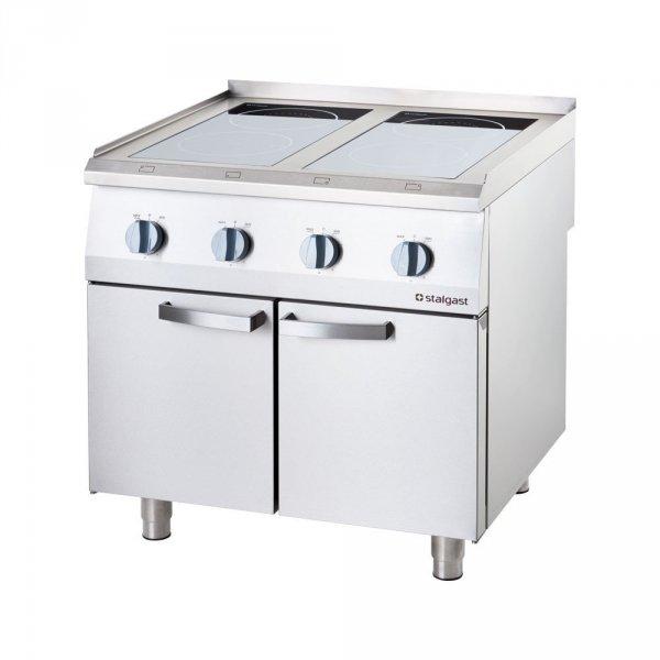 Kuchnia indukcyjna, 4-polowa, P 14 kW