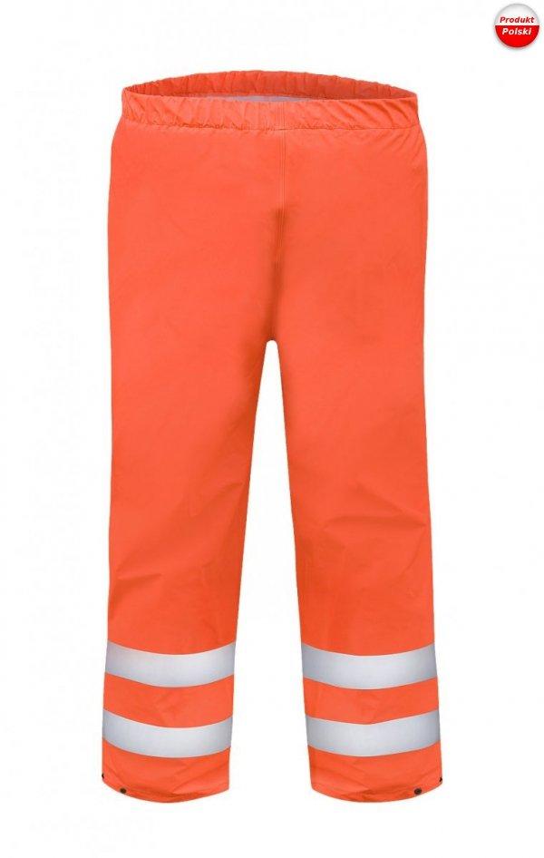 Spodnie do pasa ostrzegawcze wodoochronne 086  Aj Group - PROS