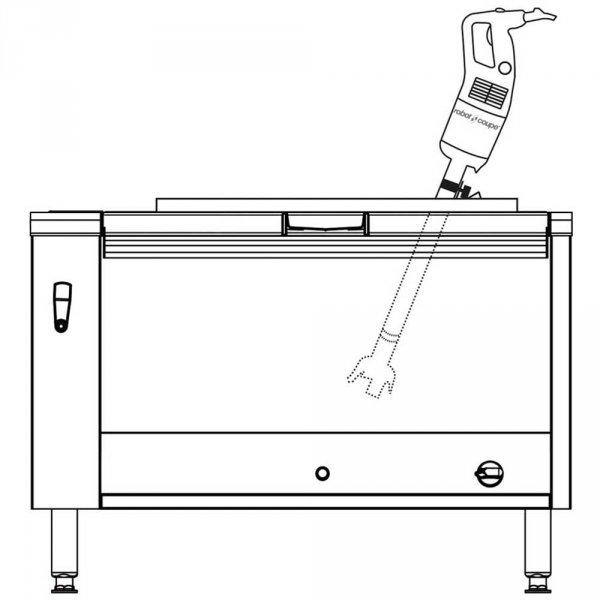 Mikser ręczny MP 800 Turbo 1 kW