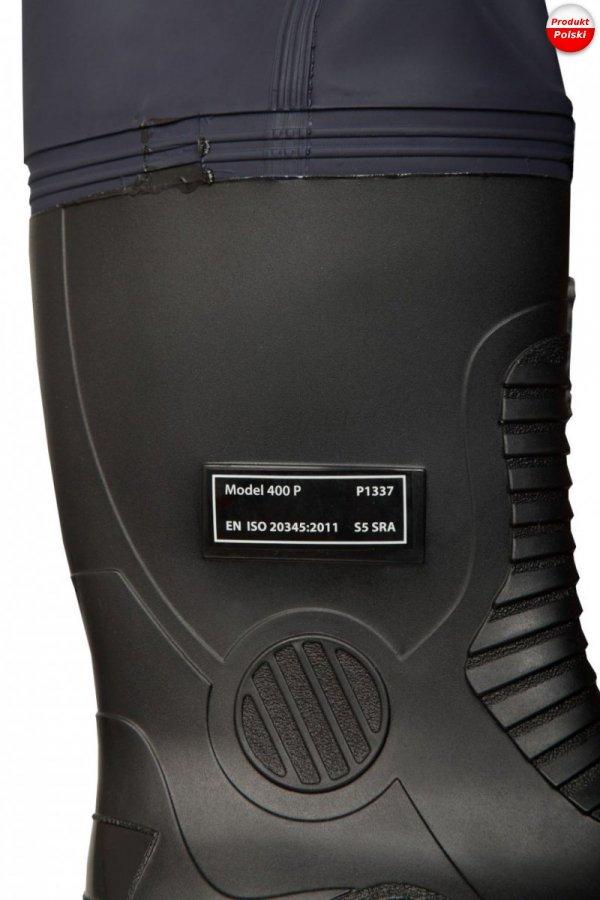 Kombinezon wodoochronny antystatyczny trudnopalny z kaloszami s5 504/a Aj Group - PROS