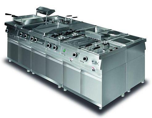 Kuchnia elektryczna 2 płytowa (płyty kwadratowe) leh.210 Lozamet