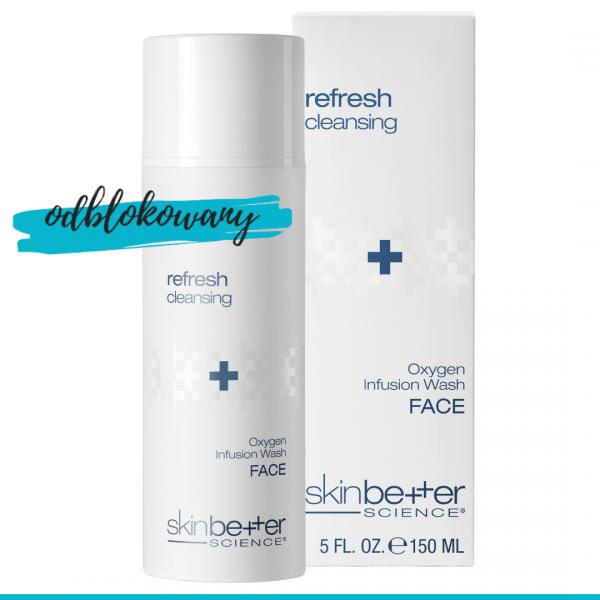 SkinBetter Science Oxygen Infusion wielozadaniowy preparat oczyszczjąco odświeżający do mycia 150 ml