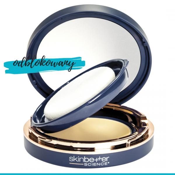 SkinBetter Science Sunbetter Tone Smart SPF 50+ mineralny filtr ochronny w kompakcie 12 g