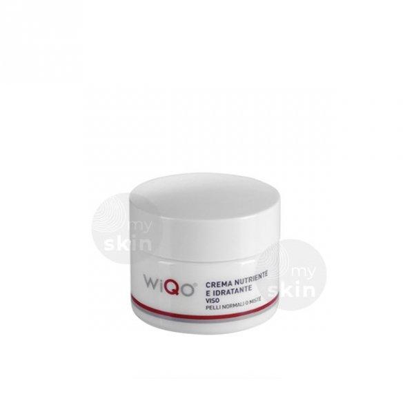 Wiqo Krem odżywczy i nawilżający dla skóry normalnej i mieszanej