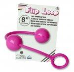 Flip Loop różowe kulki analno - waginalne