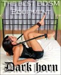 Dark Horn Straddled zestaw BDSM