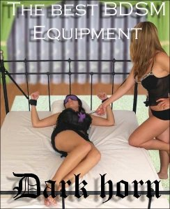 Dark Horn Mean Violet Soft+ zestaw BDSM