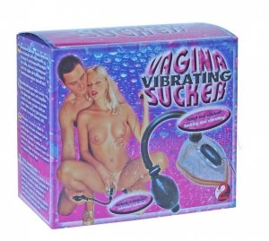 Pompka dla Pań Vibrating Vagina Sucker Black