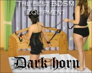 Dark Horn Tytan zestaw BDSM