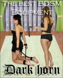 Dark Horn MuragoX Whip+ zestaw BDSM