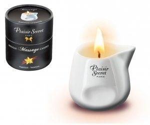 Plaisir Secret waniliowa świeczka olejek do masażu