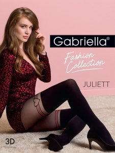 Rajstopy Gabriella Juliett 3D Fashion Collection rozmiar 4