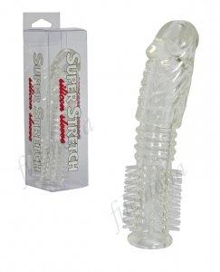 Przedłużka nakładka silikonowa z kolcami Super Stretch