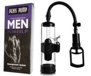 Penis Pump Powerup Men pompka erekcyjna z wibratorem