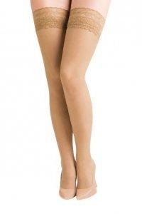 Pończochy samonośne Gabriella Calze Plus Size 5/6 kolor Neutro