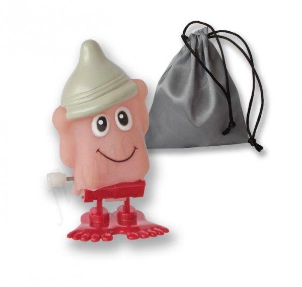 Skaczący penis Condom Hat w sakiewce