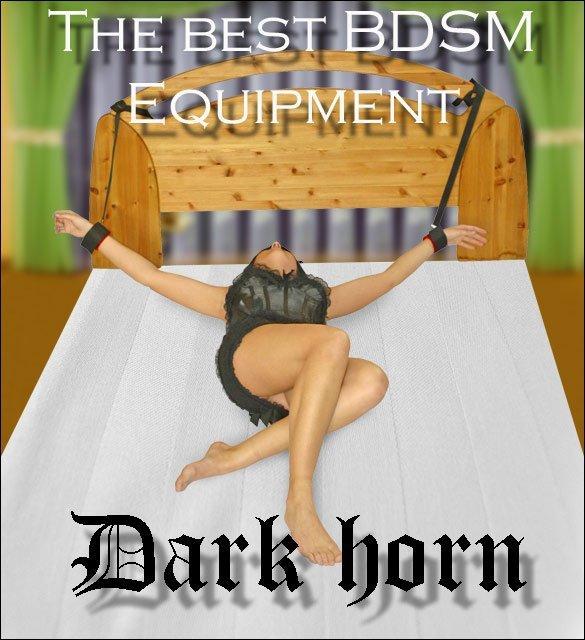 Dark Horn Mean zestaw BDSM