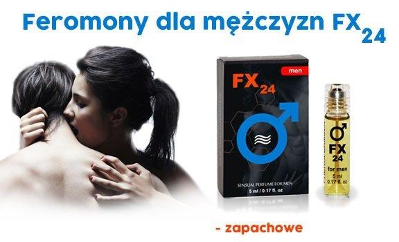 FX24 Sensual 5ml feromony dla mężczyzn afrodyzjak zapachowy