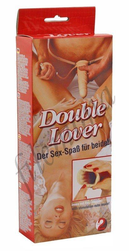 Proteza penisa Double Lover przód
