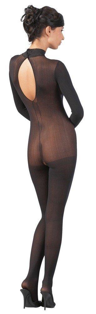 Bodystocking Catsuit Spitzen Mit tył