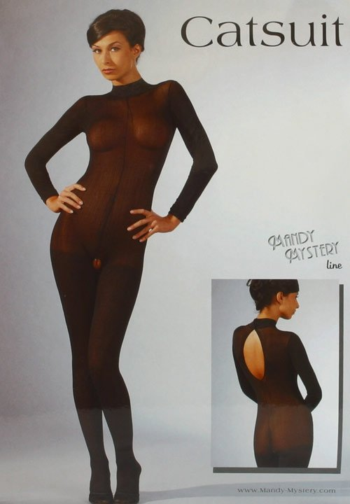 Bodystocking Catsuit Spitzen Mit opakowanie