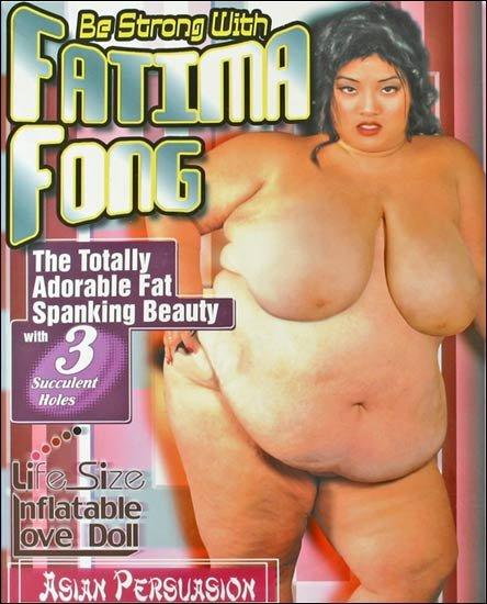 Gruba lalka miłości Fatima Fong przód