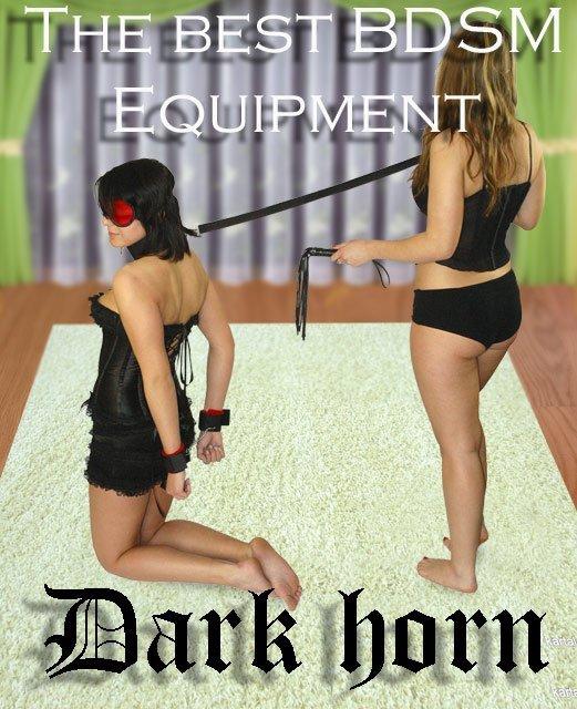 Dark Horn Goliat Whip+ zestaw do krępowania