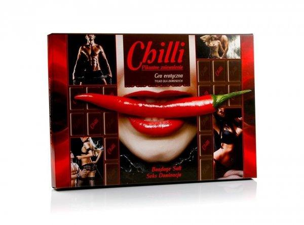 Gra erotyczna Chilli – pikantne zniewolenie – seks dominacja
