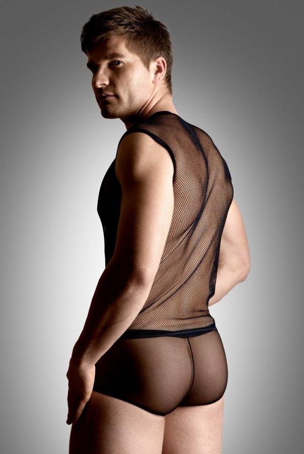 Erotyczny komplet Net Set Shirt&Thong tył