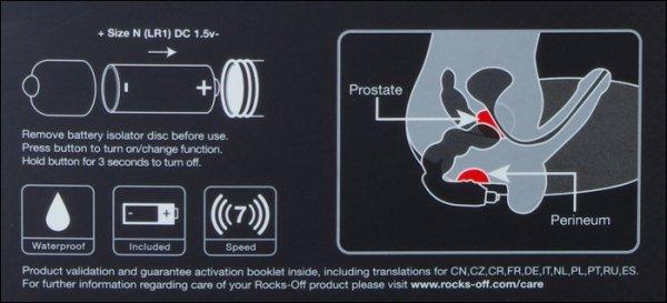 Big Boy Rocks - Off stymulator prostaty