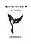 Wzór do haftu M2015 - Dziewczyna kruk