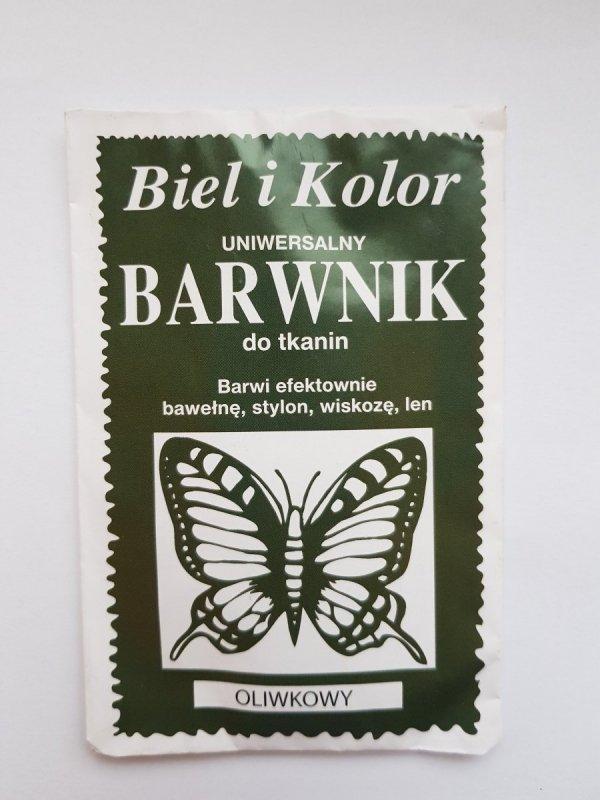 Barwnik - Biel i Kolor - oliwkowy