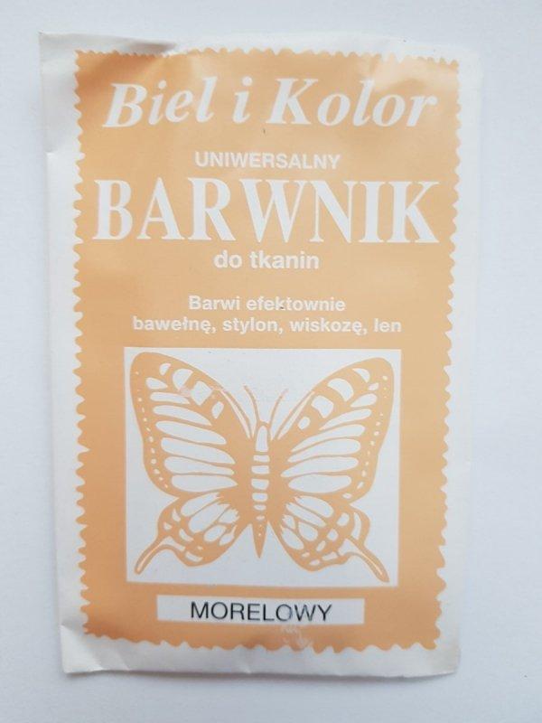 Barwnik - Biel i Kolor - morelowy