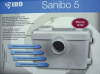 Pompa rozdrabniacz Sanibo 5 do WC