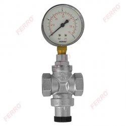Reduktor ciśnienia 1/2- standard z manometrem