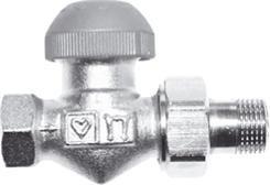 Zawór termostatyczny grzejnikowy prosty HERZ TS 90