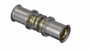 Złączka zaciskana pex 25x25 mufa- Wavin Tigris M5