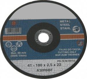 TARCZA DO CIĘCIA METALU 115X1,6mm