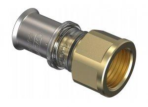 Złączka pex Wavin M5 zaciskana 20x1/2 GW
