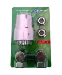 Zestaw termostatyczny do grzejnika VK kątowy