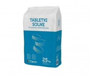 Tabletki solne Ciech sól do systemów uzdatniania wody 25KG