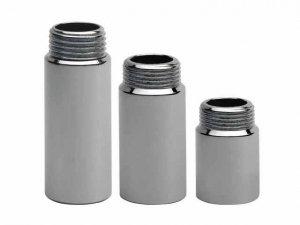 Przedłużka chromowana 1/2 15mm - 1,5 cm chrom