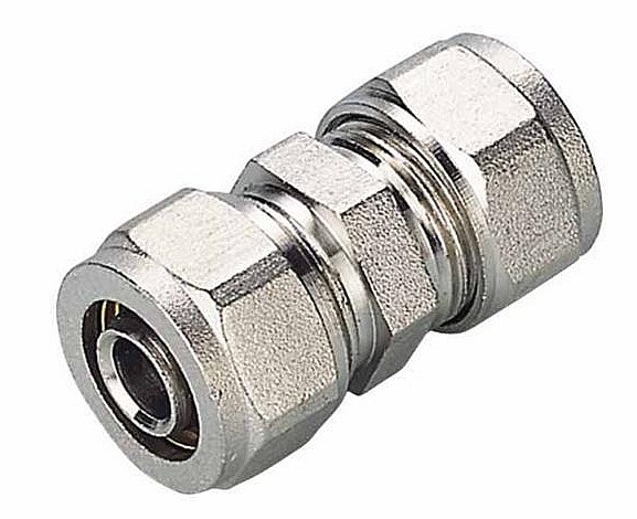 Mufa PEX złączka 20x20 mm skręcana